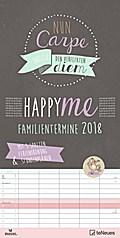 Happy Me 2018 Familienplaner