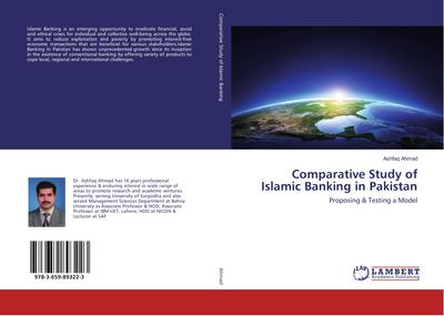 Comparative Study of Islamic Banking in Pakistan