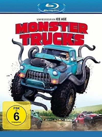 Monster Trucks, 1 Blu-ray