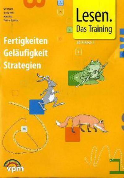 Lesen - das Training. Mappe 2./3. Schuljahr mit 4 Arbeitsheften