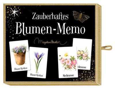 Schachtelspiel - Zauberhaftes Blumen-Memo (Spiel)