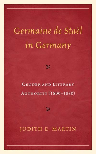 Germaine de Staël in Germany