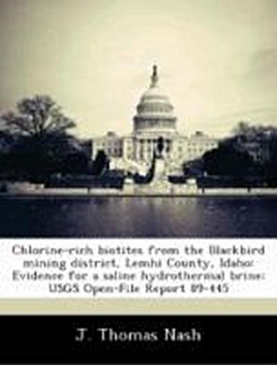 Nash, J: Chlorine-rich biotites from the Blackbird mining di