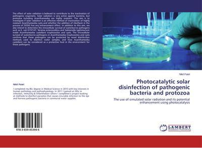 Photocatalytic solar disinfection of pathogenic bacteria and protozoa