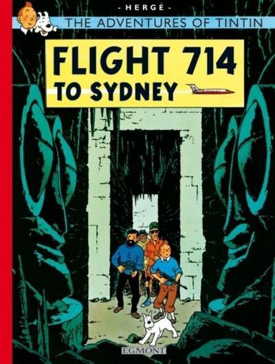 The Adventures of Tintin - Flight 714. Flug 714 nach Sydney, englische Ausgabe