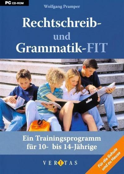 Rechtschreib- und Grammatik-FIT. Ein Trainingsprogramm für 10- bis 14-Jährige.CD-ROM für Windows Vista; XP; 2000; NT; ME; 98