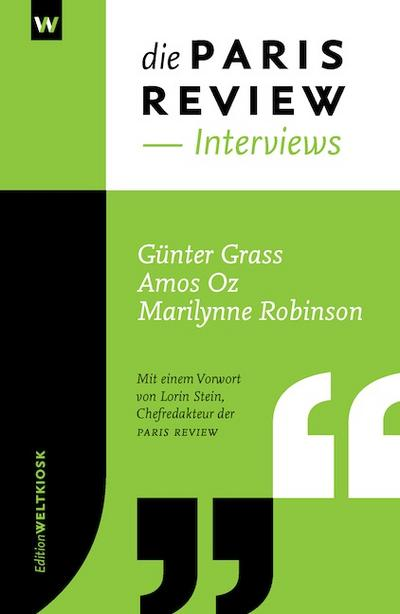 Die PARIS REVIEW Interviews