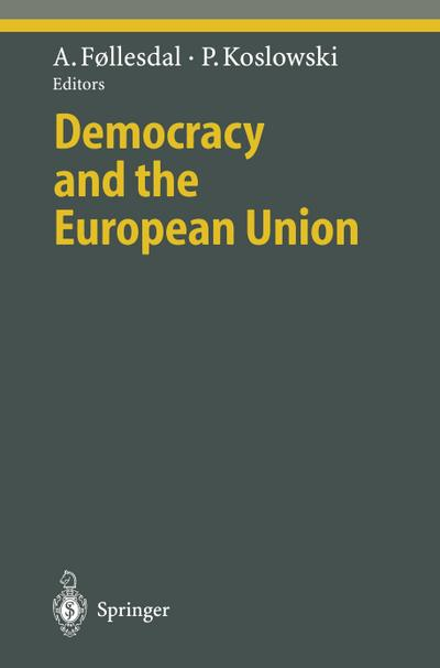 Democracy and the European Union