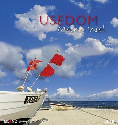 Usedom ...meine Insel 2018: Postkartenkalender - Eiland - Kalender, Deutsch, , Postkartenkalender, Postkartenkalender