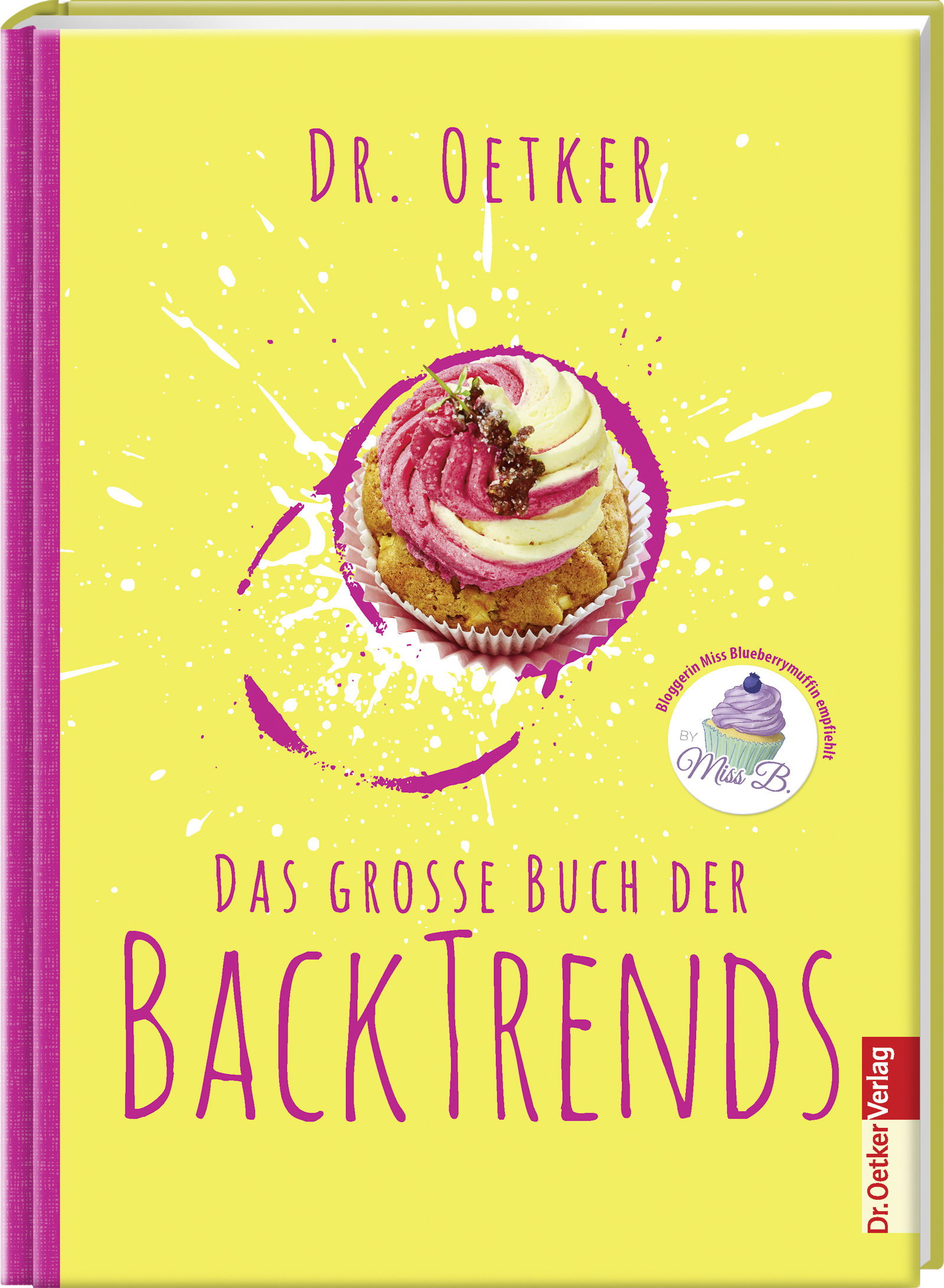 Buch d. Backtrends Dr. Oetker