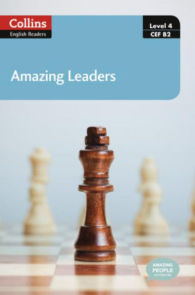 Amazing Leaders [With MP3] (Collins English Readers)