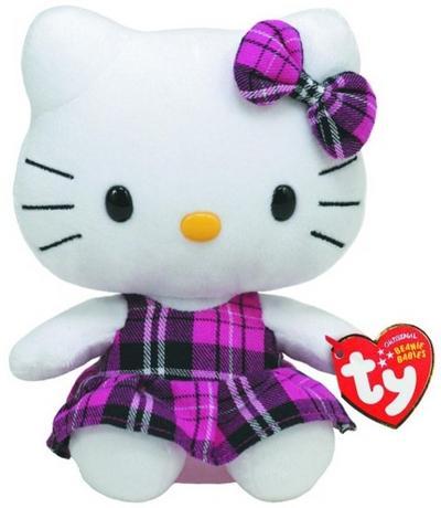 Hello Kitty Baby - Schottenrock pink 15cm