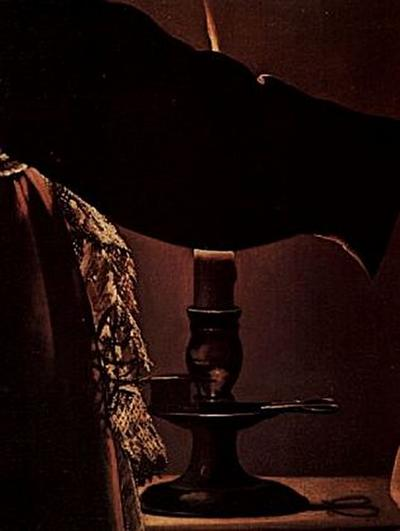 Georges de La Tour - Der Engel erscheint dem Hl. Josef im Traum, Detail - 200 Teile (Puzzle)