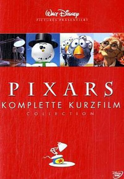 Pixars komplette Kurzfilm Collection, 1 DVD