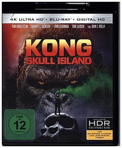 Kong: Skull Island 4K, 2 UHD-Blu-ray