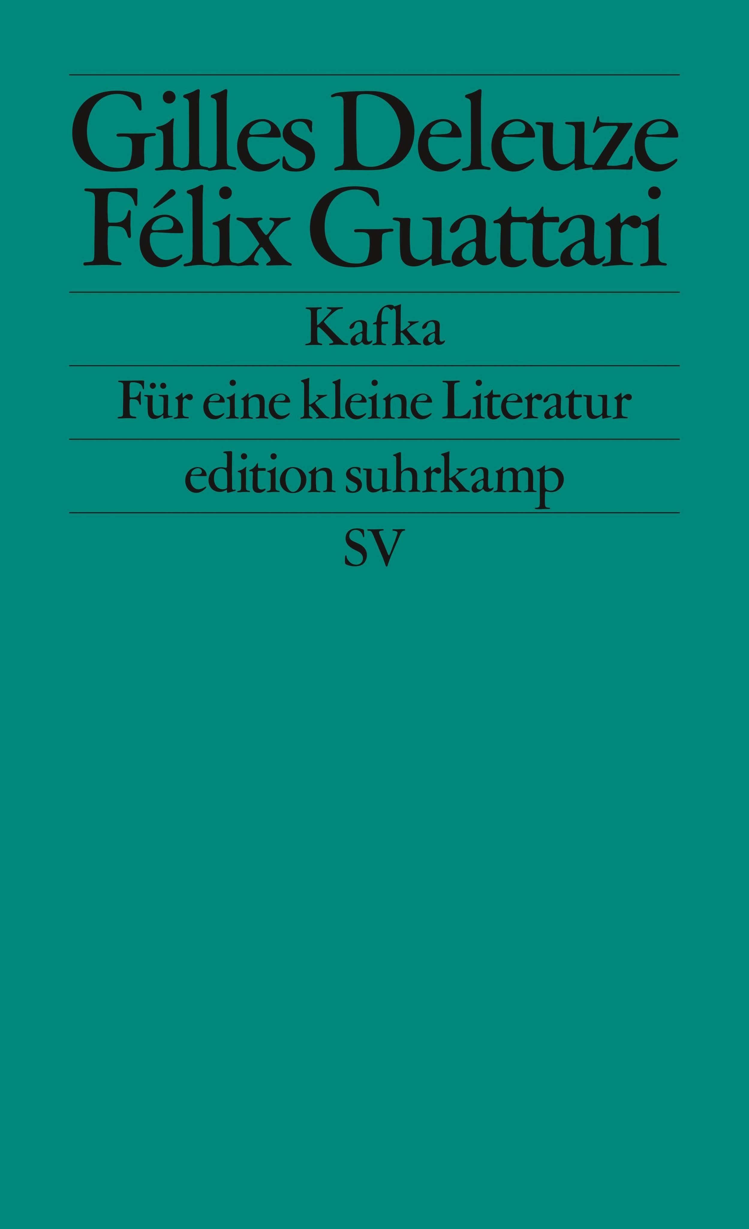 Kafka Gilles Deleuze