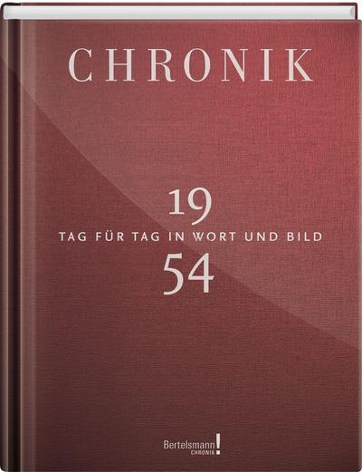 Jubiläumschronik 1954