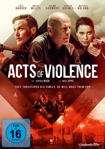 Acts of Violence, 1 DVD