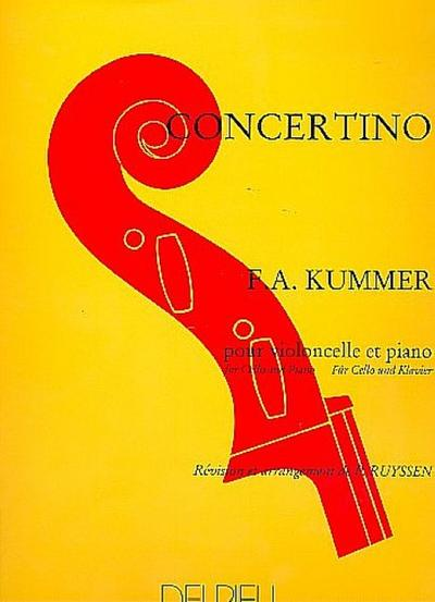 Concertino pour violoncelle et piano