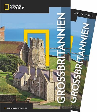 National Geographic Traveler Großbritannien mit Maxi-Faltkarte
