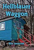 Hellblauer Waggon