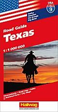 Hallwag USA Road Guide 09 Texas 1 : 1.000.000