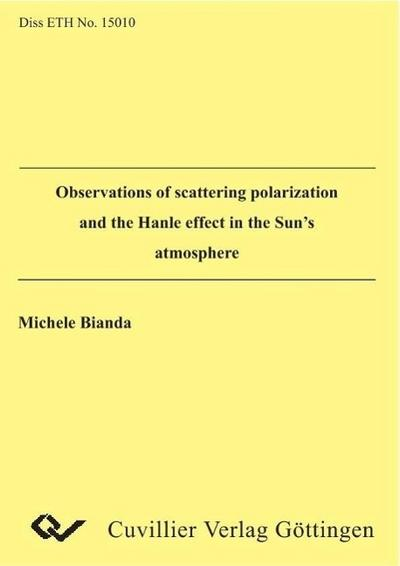 Observations of scattering polarization and the Hanle effct in the Sun´s atmosphere