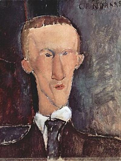 Amadeo Modigliani - Porträt des Cendras - 200 Teile (Puzzle)