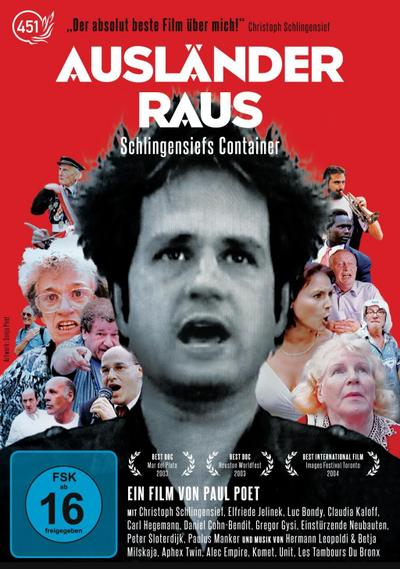 Ausländer raus! Schlingensiefs Container, 1 DVD