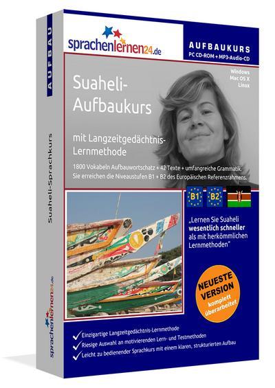 Suaheli-Aufbaukurs, PC CD-ROM m. MP3-Audio-CD