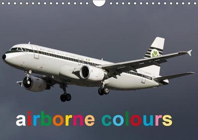 airborne colours (Wall Calendar 2019 DIN A4 Landscape)