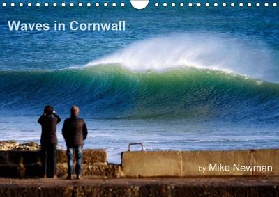 Waves in Cornwall (Wall Calendar 2019 DIN A4 Landscape)