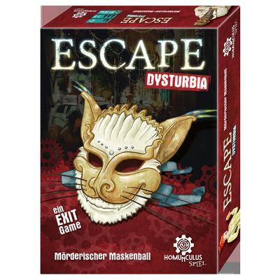 ESCAPE Dysturbia (Spiel): Mörderischer Maskenball