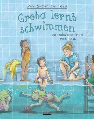 Greta lernt schwimmen