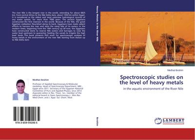 Spectroscopic studies on the level of heavy metals