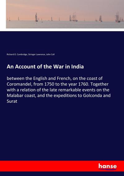 An Account of the War in India