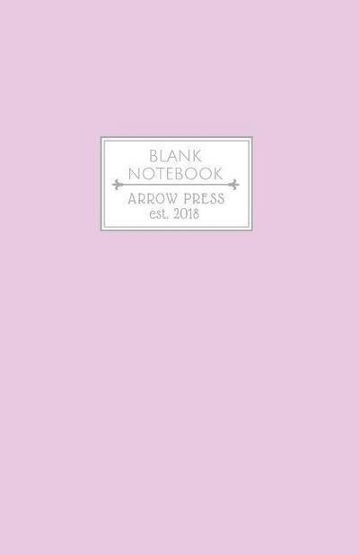 Blank Notebook: Classic Medium Blank Sketchbook for Drawing Doodling and Sketching (Pastel Series) Soft Purple