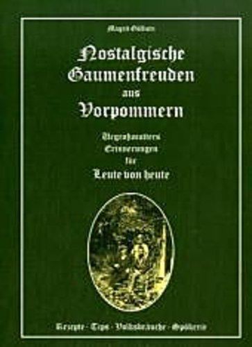 Nostalgische Gaumenfreuden aus Vorpommern - Magrit Göllnitz -  9783933574947