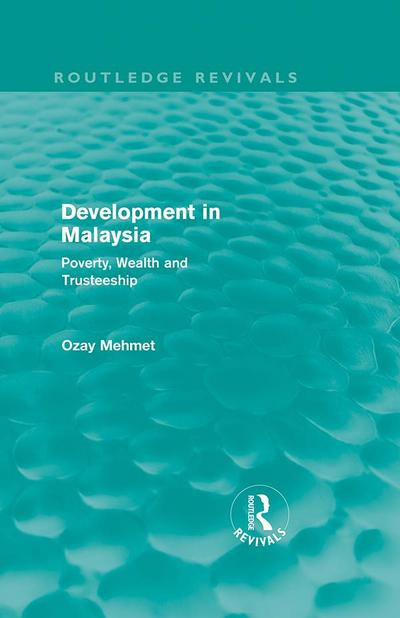 Development in Malaysia (Routledge Revivals)