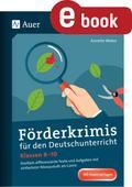 Förderkrimis für den Deutschunterricht Klasse ...