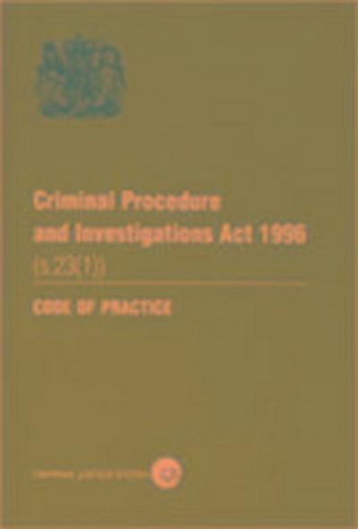 Criminal Procedure and Investigations Act 1996 (s. 23 (1))