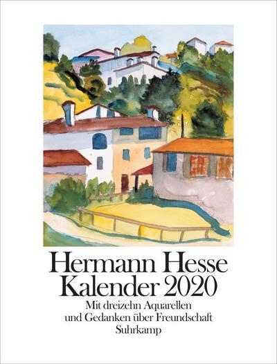 Hermann Hesse Kalender 2020