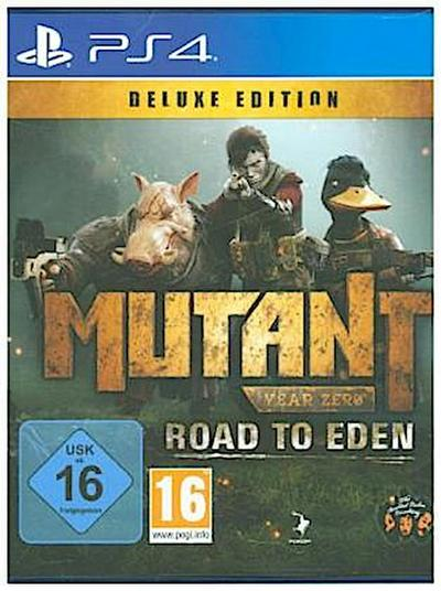 Mutant Year Zero, Road to Eden, 1 PS4-Blu-ray Disc (Deluxe Edition)