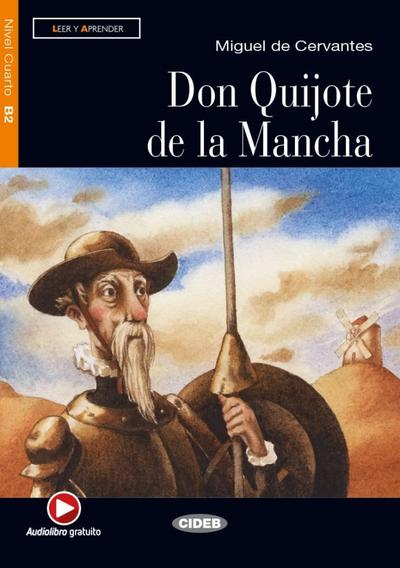 Don Quijote de la Mancha. Buch + Audio-CD
