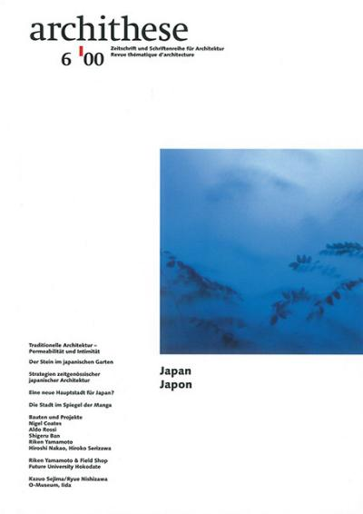 Archithese 2000/06 Japan