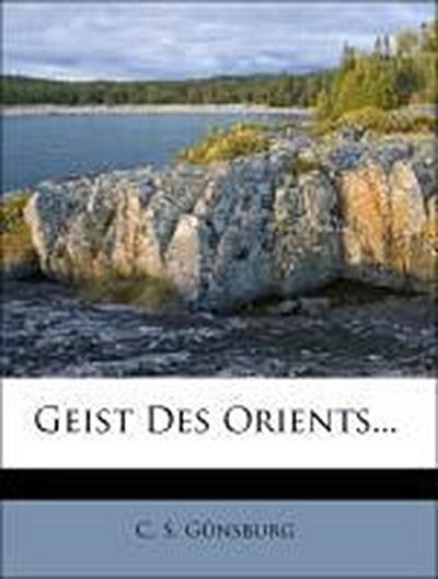 Geist Des Orients...