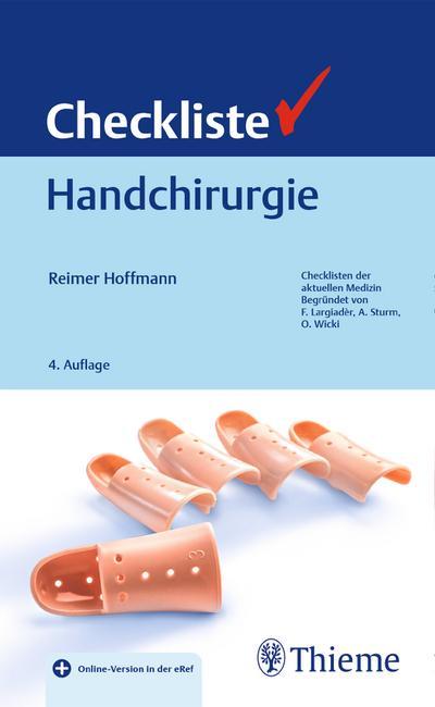 Checkliste Handchirurgie