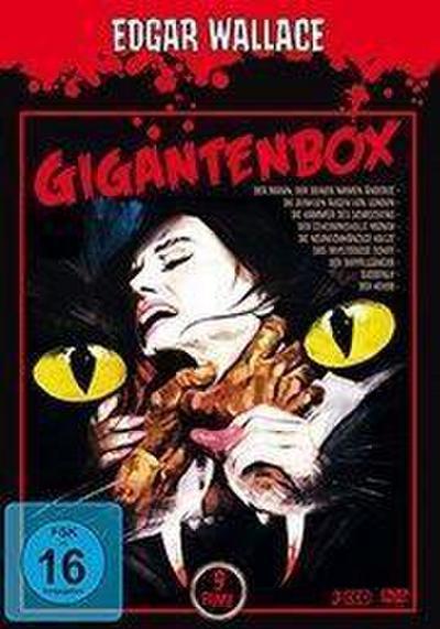 Edgar Wallace: Gigantenbox DVD-Box