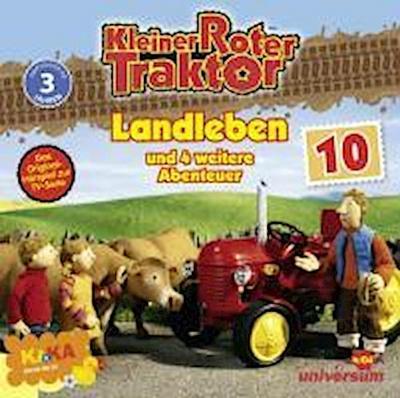 Kleiner Roter Traktor 10 Audio:Landleben Und 5 Wei