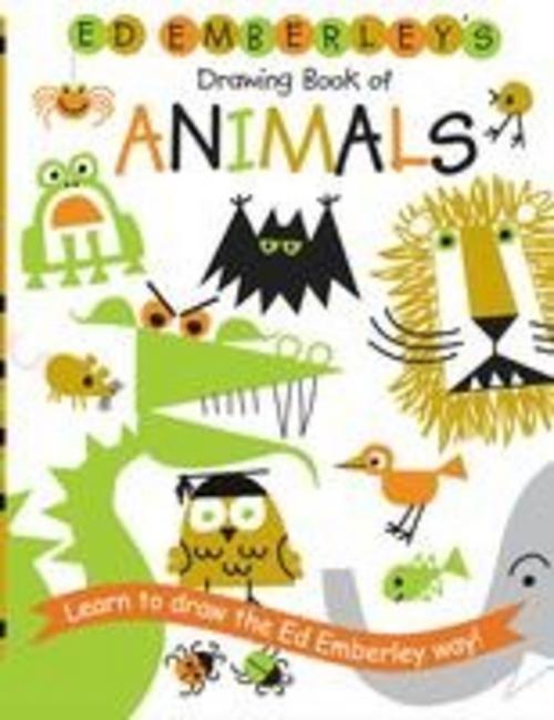 Ed Emberley ~ Ed Emberley's Drawing Book of Animals 9780316789790